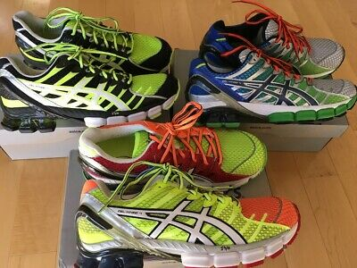 grand choix de 3421b ceebf ASICS GEL-KINSEI 4 running shoes. Collection of 3 pairs US men size 10  (28cm).