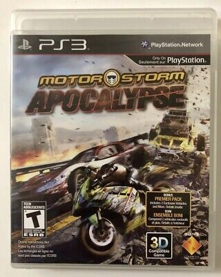 MotorStorm: Apocalypse (Sony PlayStation 3, 2011) PS3 Complete FREE SHIPPING!