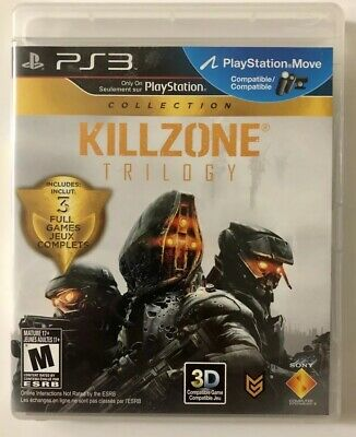 Killzone Trilogy Collection (Sony PlayStation 3, 2012) PS3 Game FREE SHIPPING!