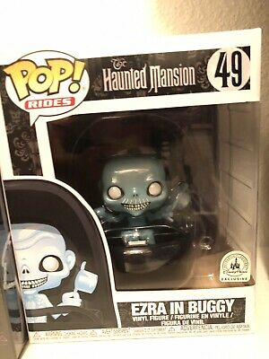 Funko Pop! The Haunted Mansion Ezra In Buggy #49 Disney Parks Exclusive