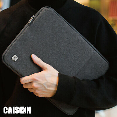 CAISON Laptop Sleeve Case Cover Bag For Apple Mircosoft Lenovo DELL HP HUAWEI