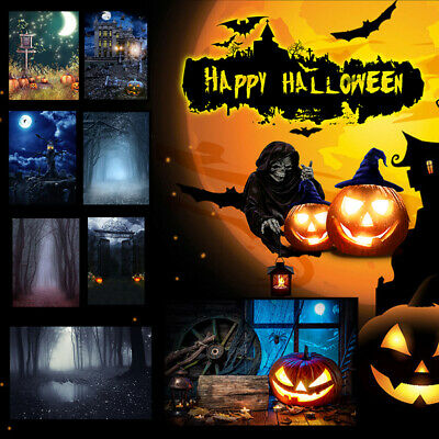 3x5/5X7FT Halloween Studio Photography Photo Background Wall Backdrop Props Deco