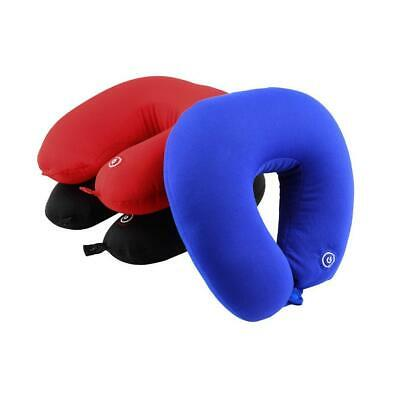 Memory Foam U Shaped Travel Pillow Neck Support Head Rest Airplane Cushion  LJ