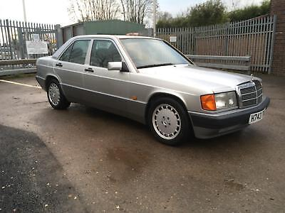 mercedes-benz 190 2 5 diesel automatic ( only 2 owners ) 190d mot 30-