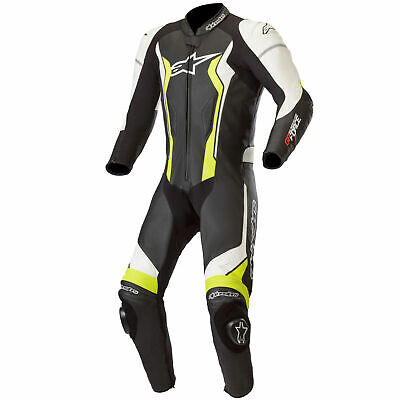 Alpinestars GP Force Leather 1 Piece Motorcycle Bike Riding Suit