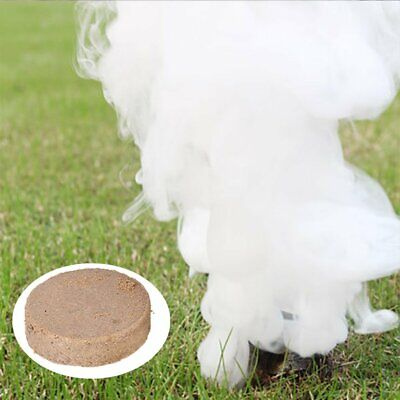 10Pcs White Smoke Cake Effect Show Round Bomb Photography Aid Toy Divine