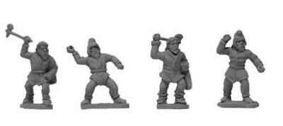 SCYTHIANS 5 FIGURES no packing HARD 54 mm 1:32 Russian toy