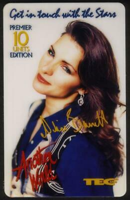 10u Another World TV Show - Alice Barret 'Frankie' USED Phone Card