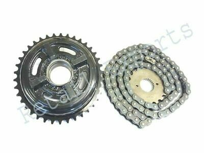 Royal Enfield Genuine Chain /& Sprocket Kit For Bullet//Classic 500 Part # 597462