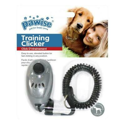 Pawise Training Clicker Dog Puppy Walk Recall Obedience Aid Results Behaviour