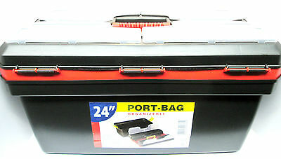 "24"" Maestro Toolbox / Storage With Handle Tool Box New TZ TB097"