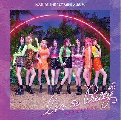 NATURE 1st Mini Album [I'm So Pretty] Moonlight Ver CD+P.Book+Photocard+F.Poster