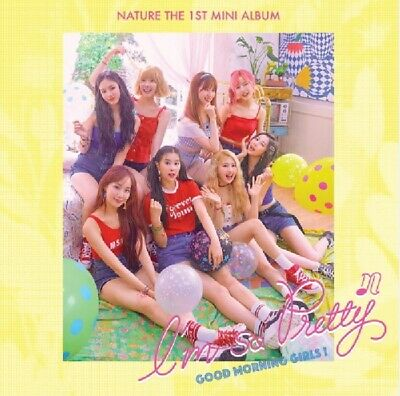 NATURE 1st Mini Album [I'm So Pretty] Good Morning Girls CD+P.Book+Card+F.Poster