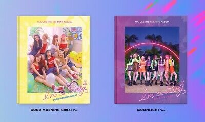 NATURE 1st Mini Album [I'm So Pretty] 2Ver SET CD+Photobook+Photocard+F.Poster