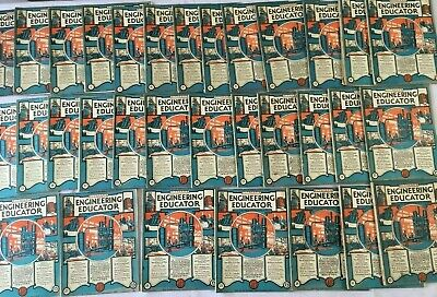 Full collection issues 1 - 32 of 1926 - 7 Pitmans Engineering Educator Magazines