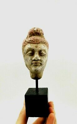 Unusual Rare Greek Hellenistic Ca.400 Bc Terracotta Head - R134