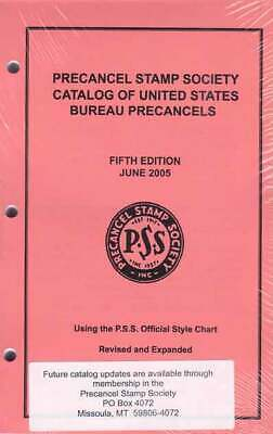 PSS Catalog of US Bureau Precancels, 5th Ed, (2005) - Latest Edition