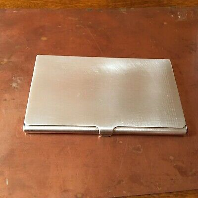 Tiffany & Co. Sterling Silver  Business Card Holder Case 57.3 Grams🍀🍎🌺🌸
