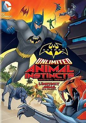 Batman Unlimited: Animal Instincts-DVD-2015-Canadian-FREE SHIPPING IN CANADA