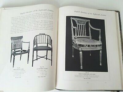 Antique Leather Furniture Reference Book Adams Sheraton Sideboard Chairs