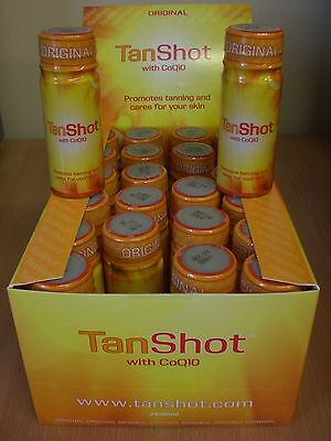 Tan Shot Tanning & Beauty Drink Beta Carotene & Aloe Vera Promotes Tan TanShots