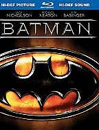 BATMAN-BLU RAY-2009-20th Ann.-BOOK PACKAGE EDITION-FREE SHIPPING IN CANADA