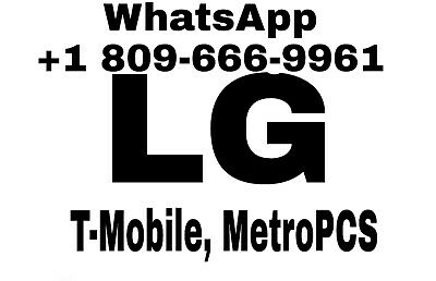 METRO PCS UNLOCK App Service LG K20 Plus MP260 Aristo MS210