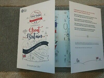 Great British Coin Hunt 2018 10p Coin Collector Album  A to Z