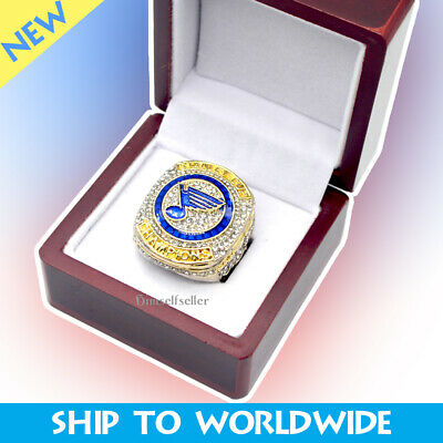 2019 St Louis Blues Stanley Cup Champions Replica Championship Ring High Quality
