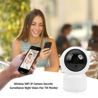 1080P WiFi Wireless IP Camera Smart Home CCTV Security Baby / Pet Monitor Webcom