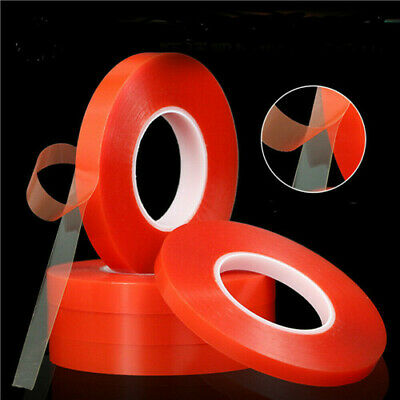 Strong Double-sided Clear Transparent Acrylic Foam Adhesive Tape UK STOCK NEW