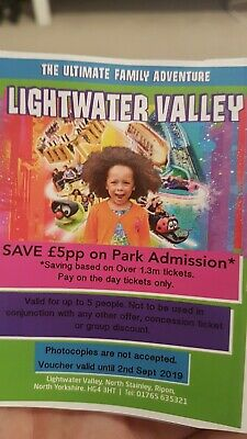 Lightwater valley money off voucher