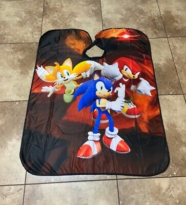 """Dragon Ball Z Goku Barber hair cutting and styling cape 55""""X60"""""""
