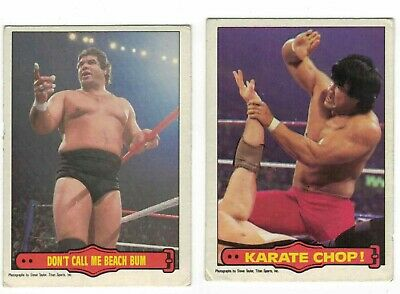 1985 OPC WWF lot - pick only the cards u need - $0.99 each