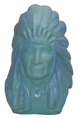 Van Briggle Pottery Limited Edition Bust Of Native American Chief Two Moons