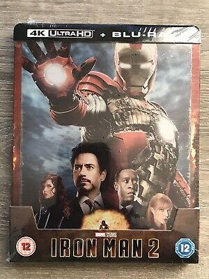 💥💥Steelbook Exclusif Iron Man 2 ZAVVI  - 4K Ultra HD (+2D) MARVEL SOLD OUT💥💥