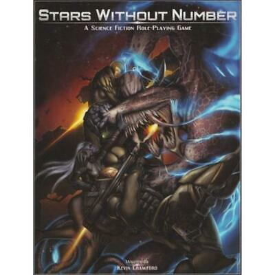 Sine Nomine Pub Sci-Fi RPG Stars Without Number (1st Edition) HC NM