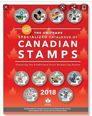 Unitrade Specialized Canada Catalogue 2018 (strbx1)