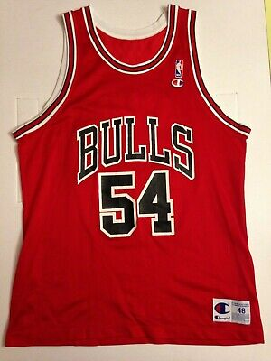 Rare Jersey Maillot Nba Champion Bulls Horace Grant