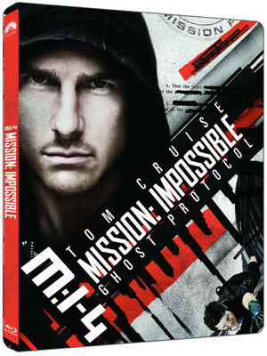 Mission Impossible Ghost Protocol - Ltd Edition Steelbook (4K Ultra HD+Blu-ray)