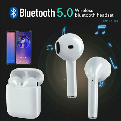 i9S TWS Mini Wireless Bluetooth In-ear Earbud Earphone Double Ear In Sealed Box