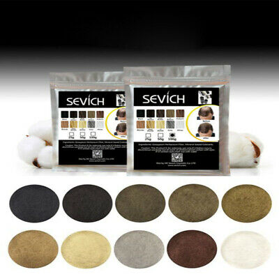 Sevich Refill Hair Fibers Natural Keratin Building Thickening Powder 100g Pack