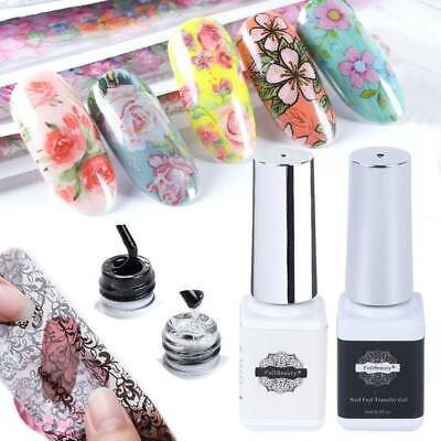 Nail Transfer Gel for Transfer Foil Sticker Nail Foil Adhesive Gel Starry Paper
