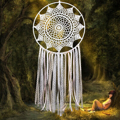 Large Boho Dream Catcher Dreamcatcher Wall Hanging Decor Craft Gift Orname DKH