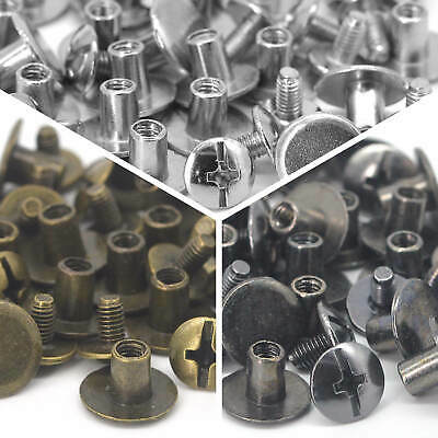 Wholesale Leather Craft Accessories Rivet Chicago Screws Stud Belt Luggage Decor