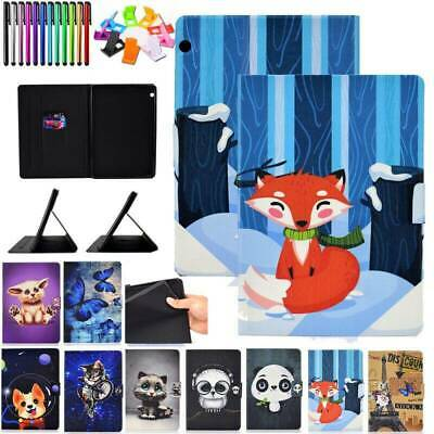 """For Huawei MediaPad T3 7"""" 9.6"""" T5 10 Tablet PU Leather TPU Case Flip Stand Cover"""