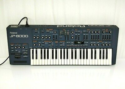 Roland JP-8000 Analogue Modelling Polyphonic Synthesizer In Very Good JAPAN