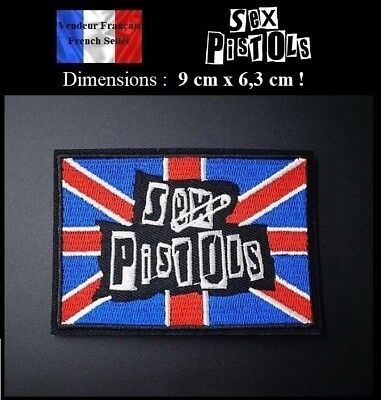 Écusson Brodé Thermocollant NEUF ( Patch Embroidered ) - Sex Pistols