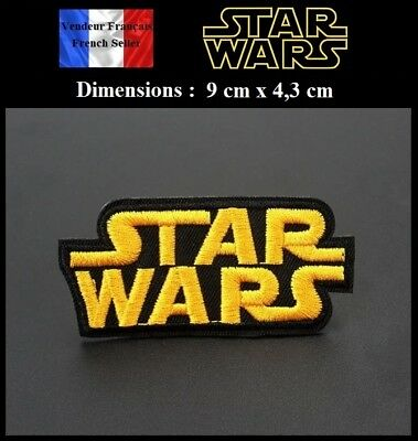 Écusson Brodé Thermocollant NEUF ( Patch Embroidered ) - Star wars