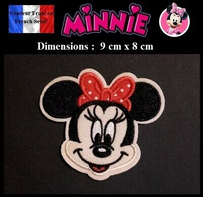 Écusson Brodé Thermocollant NEUF ( Patch Embroidered ) - Minnie